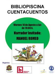CARTEL CUENTACUENTEOS viernes 14 agosto