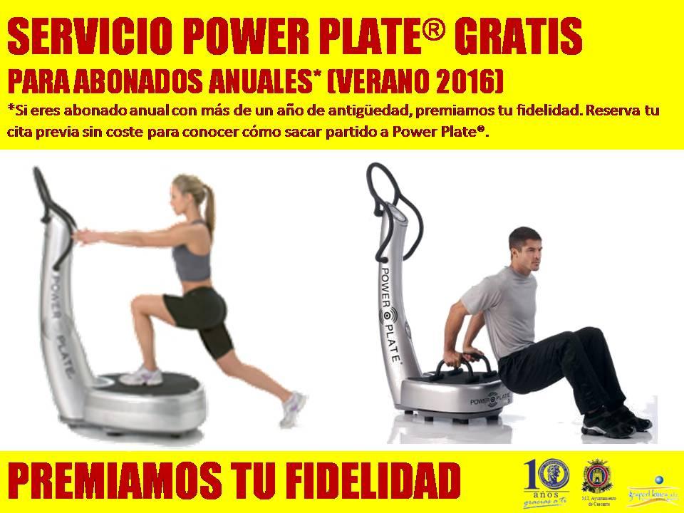 Promoción Power Plate