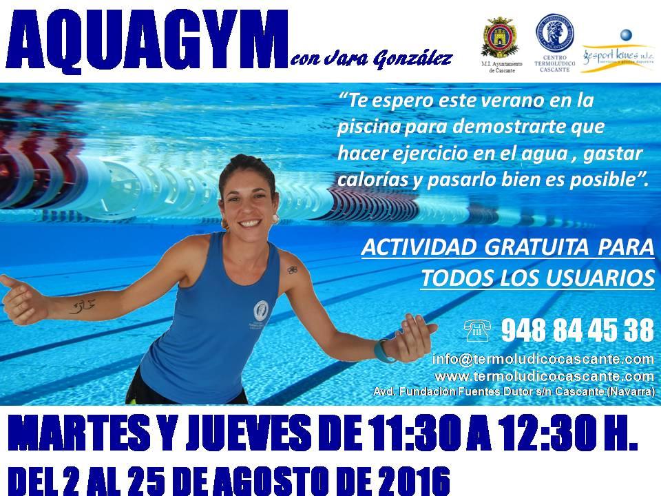 Aquagym agosto