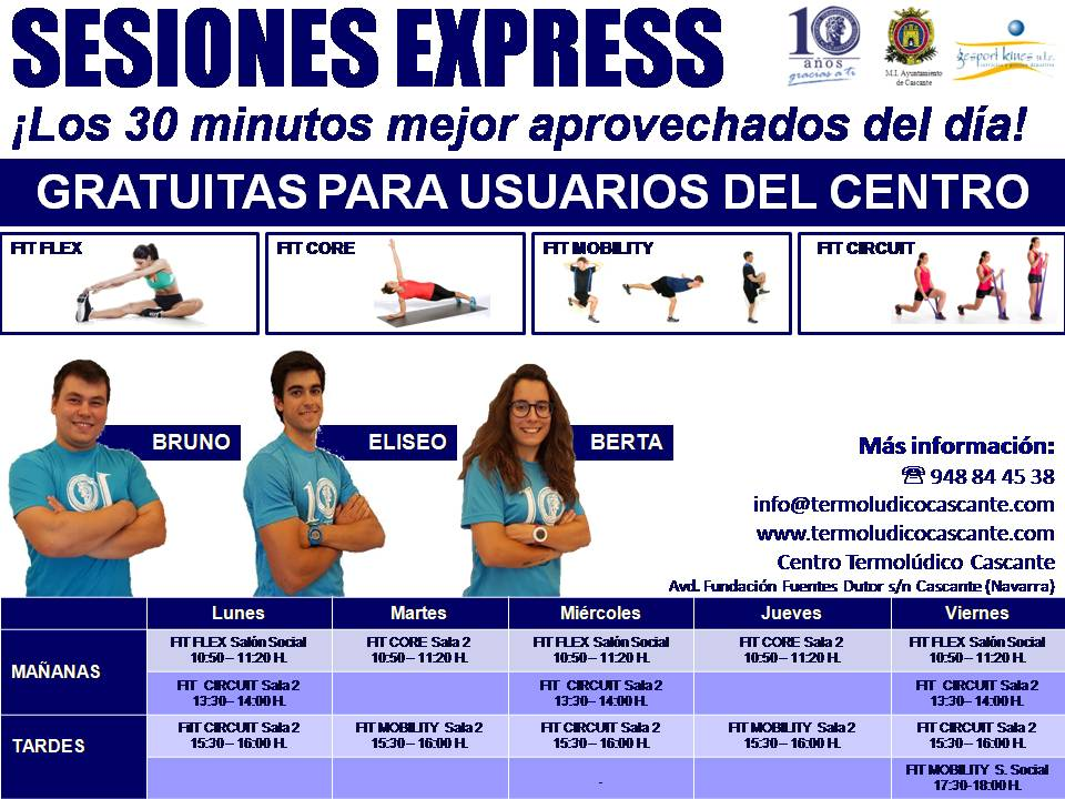 SESIONES EXPRESS